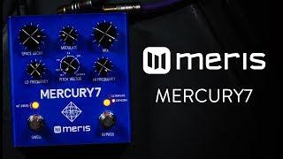 Meris Mercury7 Reverb Demo (Stereo - Please use headphones)