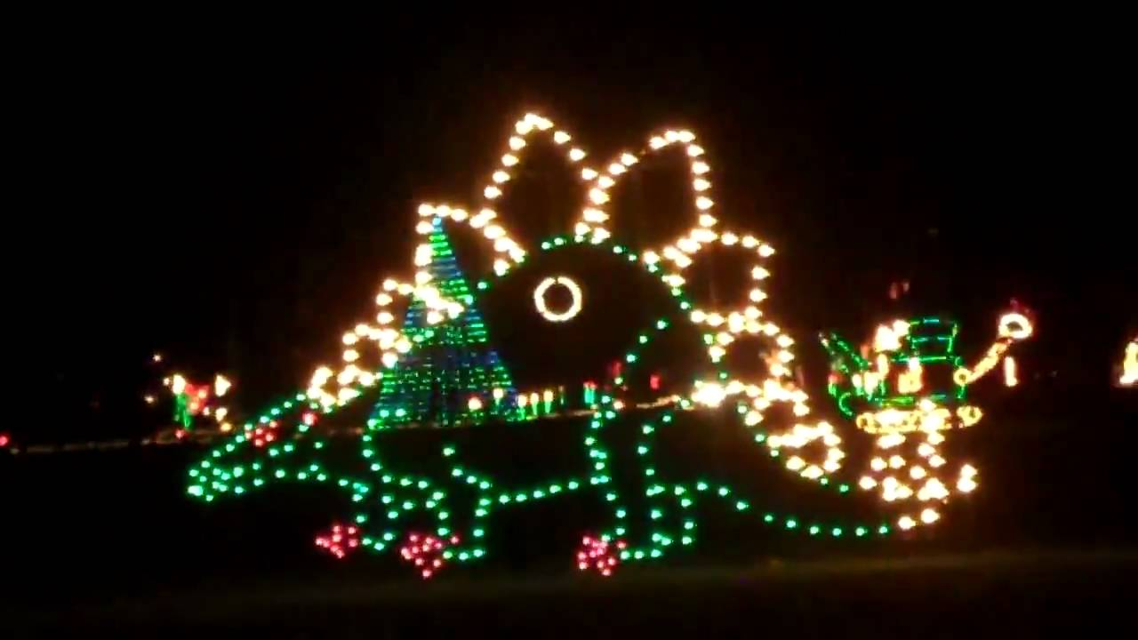 Spanaway Christmas Lights 2019 2009 Fantasy Lights at Spanaway Park in Pierce County Part 1   YouTube