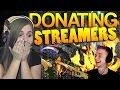 CS:GO - Donating to Streamers! #2