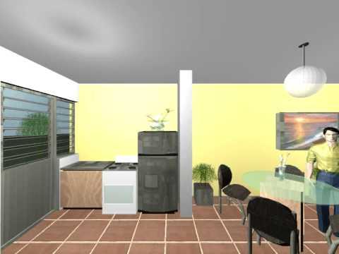 Casa SP en Tres Ceibas Recorrido virtual Interior 2