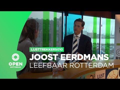 Lijsttrekkers010 - Joost Eerdmans (Leefbaar Rotterdam)