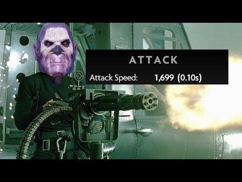 MINIGUN Witch Doctor — 1700 attack speed