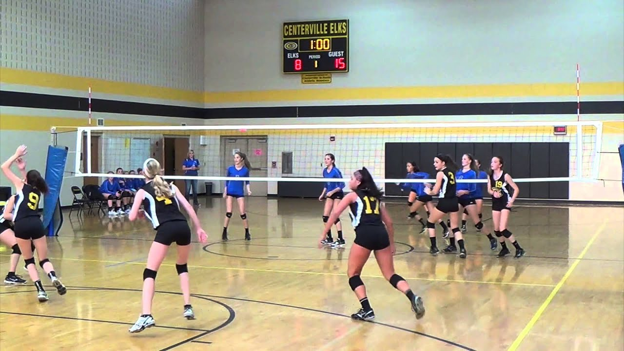 8th Grade Volleyball V Centerville 081914 Youtube