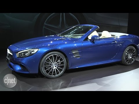 Car Tech Open Top Luxury In The Mercedes Benz Sl Youtube
