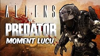 MAININ PREDATOR! | Aliens Vs Predator 2010 Moment Lucu (Bahasa Indonesia)
