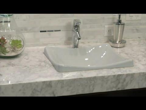 Bathroom Remodel Vanity how to update your bathroom vanity : bathroom remodeling - youtube