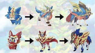 How To Evolve Pokémon - Geneŗation 8 GALAR (Animated Sprites)