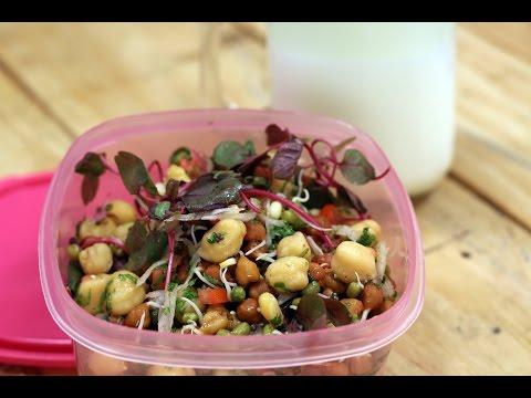 Sprout Salad   Tiffin Treats by Roopa Nabar   Sanjeev Kapoor Khazana