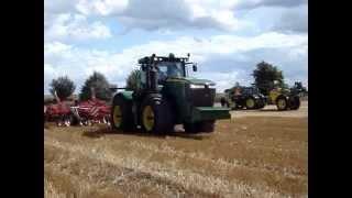 Pokazy maszyn rolniczych JOHN DEERE & KUHN Objezierze 2013