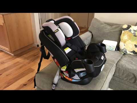 how-to-install-graco-4ever-all-in-one-convertible-car-seat-(forward-&-rear-facing-tutorial)