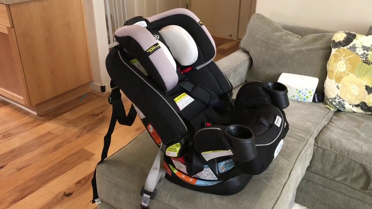 How To Install Graco 4ever All In One Convertible Car Seat Forward Rear Facing Tutorial