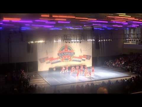 Twisters All Stars at the 2013 Arnold Classic Cheer & Dance Competition