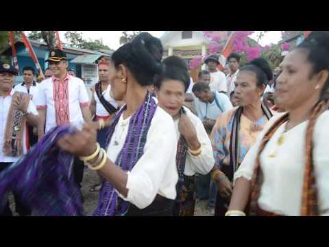 Musik dan Tarian Adat Palue, Ona Rora. Pembukaan Tournamen Voli Rokatenda Cup II