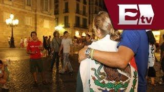 Mexicanos en España festejan el día de la Independencia / Titulares Vianney Esquinca