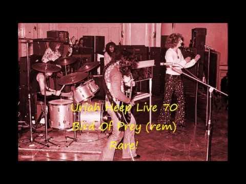 Uriah Heep Live 70 Bird Of Prey Rem Rare!