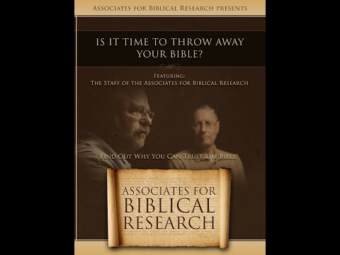 Is It Time To Throw Away Your Bible? King David And Solomon: Men Or Myths? Part One