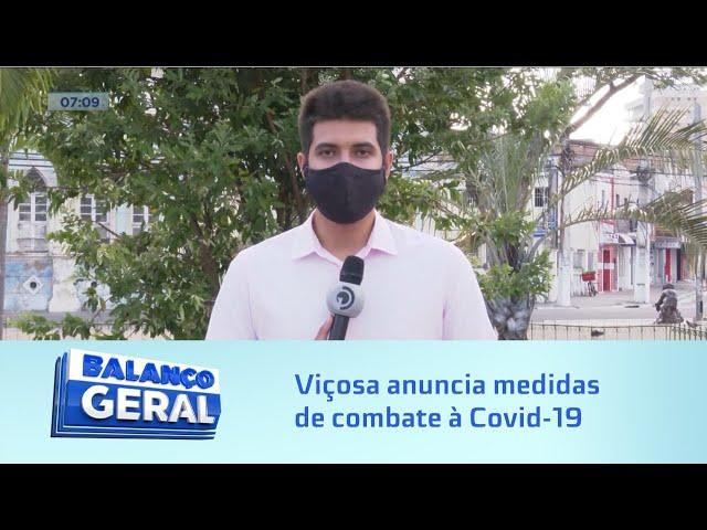 Toque de recolher: Prefeitura de Viçosa anuncia medidas de combate à Covid-19