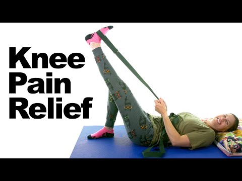 Knee Pain Relief Stretches & Exercises