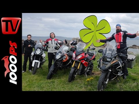 Nordirland mit Motorrad | 4 Reiseenduros + 1000PS Crew