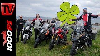Nordirland mit Motorrad   Traumhafter Motorradurlaub mit Reiseenduros   ENGL Subs