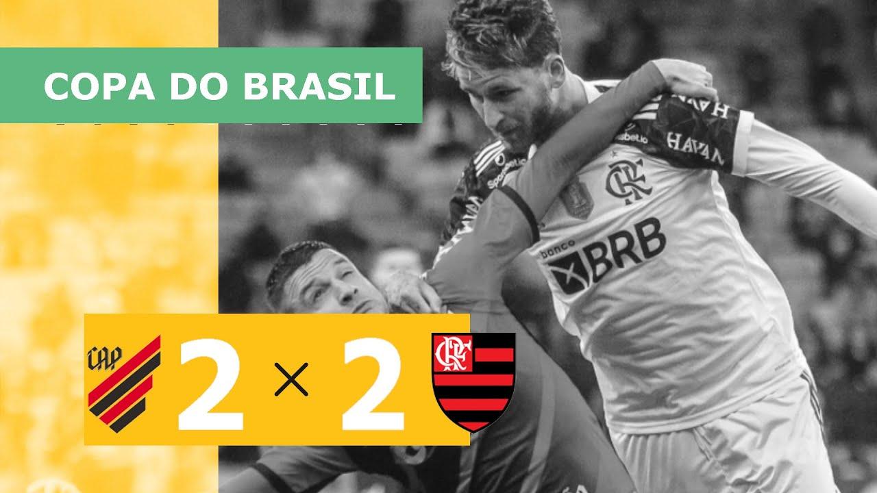 Download Athletico 2 x 2 Flamengo - Gols - 20/10 - Copa do Brasil 2021