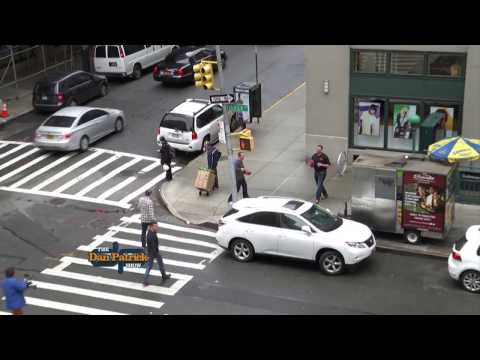 Live Look-In: Ryan Leaf chucks the pigskin three stories high