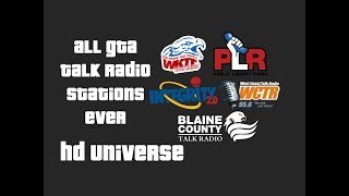 All GTA Talk Radio Stations Ever (Part 2)