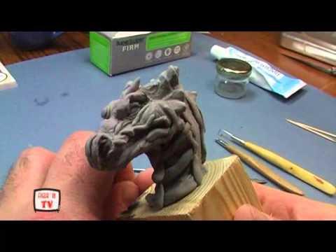 Как слепить голову дракона