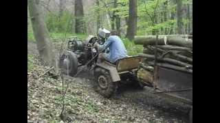 JAWA 250 Traktor