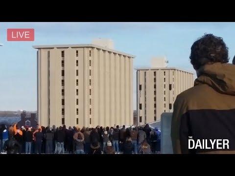 UNL Cather-Pound Demolition - The DailyER