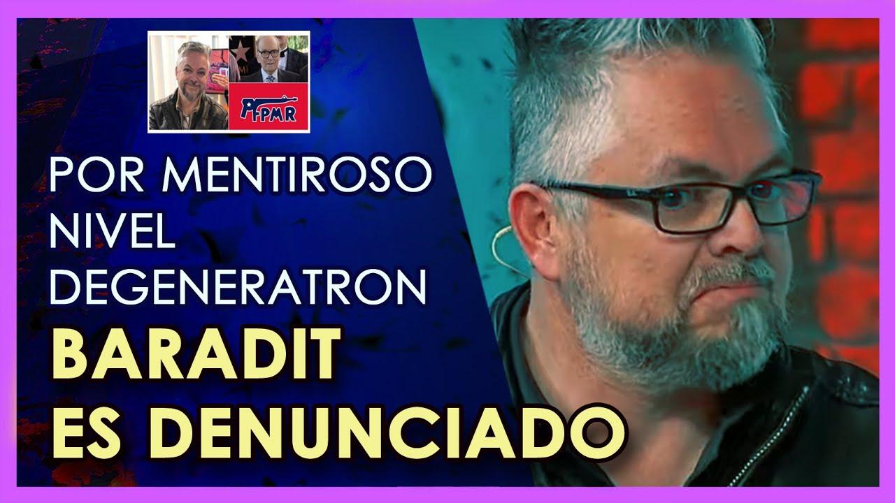 Jorge Baradit es acusado de MENTIROSO por sus propios compañeros