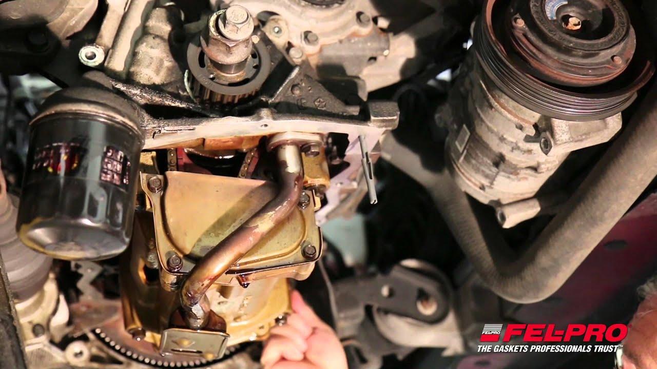 How to Install Fel-Pro Oil Pan Gaskets | Fel-Pro Gaskets