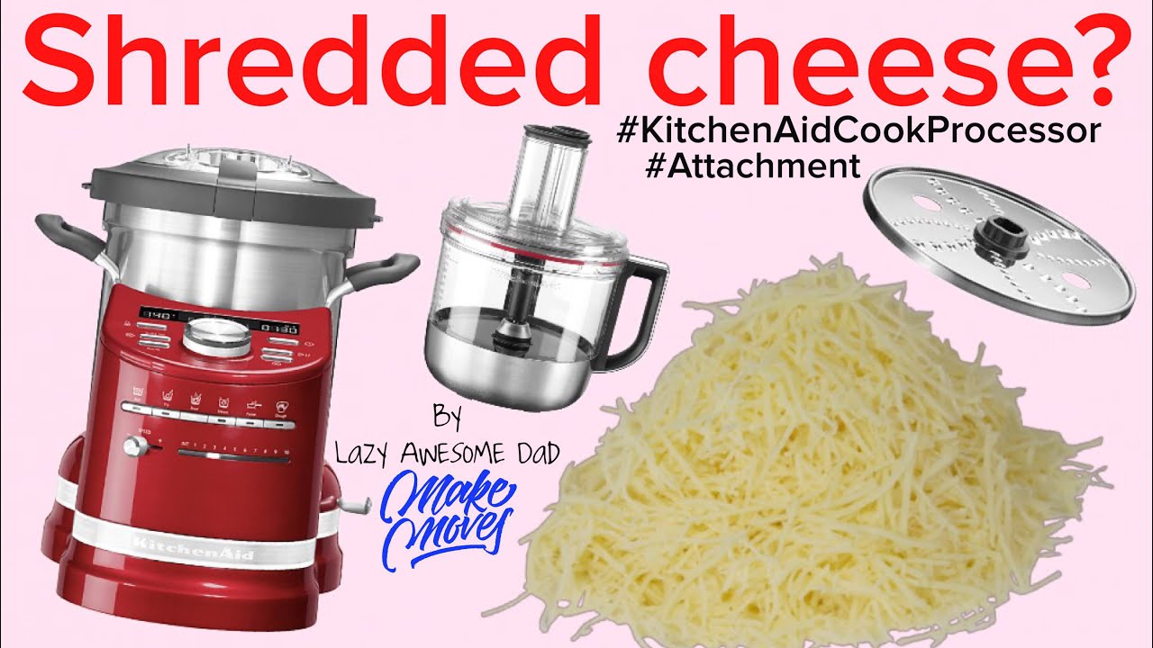 Can The Kitchenaid Artisan Cook Processor Food Processor Attachment