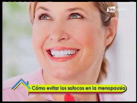 Cómo evitar los sofocos en la menopausia