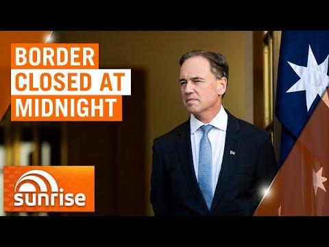 Coronavirus: Health Minister On NSW-Vic Border Closure | 7NEWS