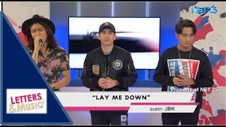 JBK - LAY ME DOWN (NET25 LETTERS AND MUSIC)