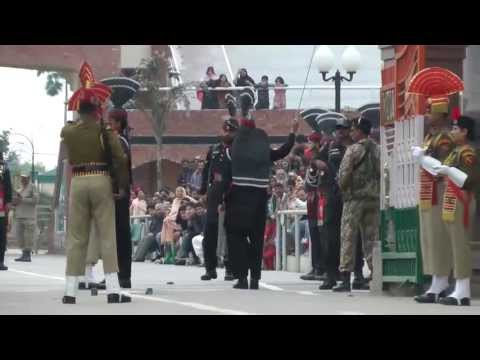 India Border Closing Ceremony India/ Pakistan - Wagah/Attari Border Travel Video