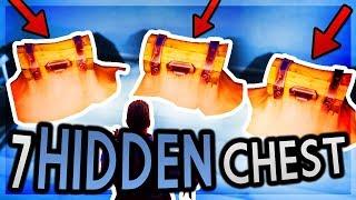 7 Hidden Secret Chest Spots | Fortnite Battle Royale