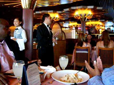Carnival Cruise Ship S Singing Waiter Youtube