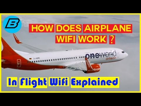 Tech Tips - How Does AirPlane Wifi Work? In Flight WiFi Explained