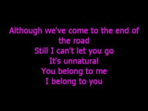 END OF THE ROAD lyric video