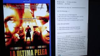 LA ÚLTIMA PELEA - [2011] [Audio Latino] [BRrip] [2 Link]