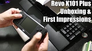 Revo K101 Plus Unboxing and First Impressions   Revo K101+ Game Boy Advance Clone