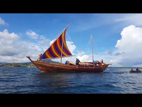 Balangay Sultan sin Sulu's Maiden Sea Trial
