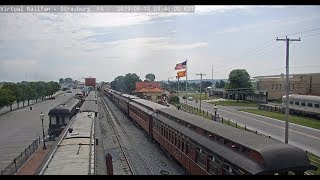 Strasburg, Pennsylvania, USA - Virtual Railfan LIVE