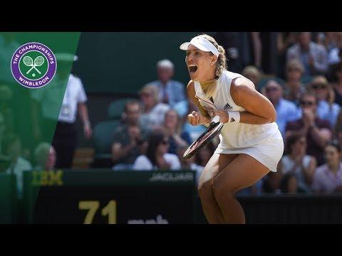 Angelique Kerber vs Jelena Ostapenko SF Highlights | Wimbledon 2018