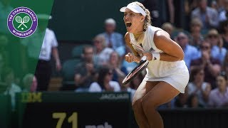 Angelique Kerber vs Jelena Ostapenko SF Highlights | Wimbledon 2018