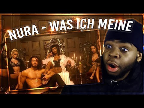 Nura - Was ich meine  REACTION!! Mp3