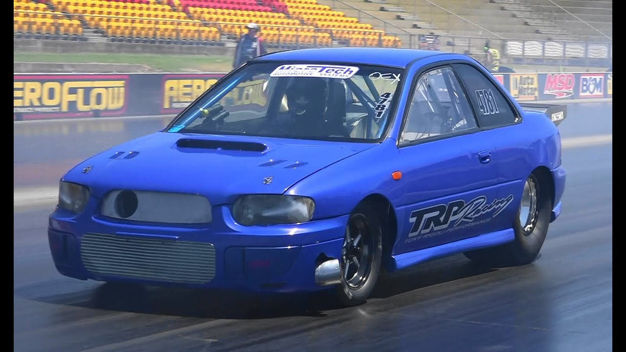 FASTEST SUBARU WRX IN THE WORLD TRP RACING 7.76 @ 193 MPH APSA ...