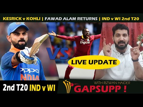 2nd T20 highlights: Simmons 67* helps WI beat IND, levels series 1-1